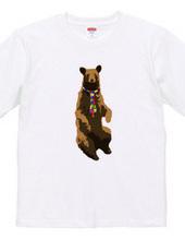 bear and necktie