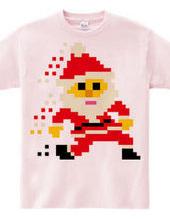 Santa ran away