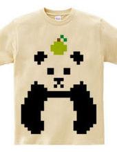 Dot Panda -green apple-