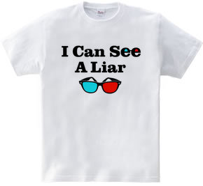 3Dめがね I CAN SEE A LIAR