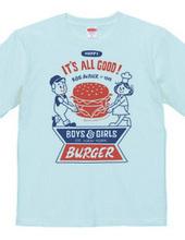 Hamburger&BOY&GIRL