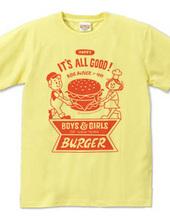 ハンバーガー&BOY&GIRL
