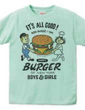 Hamburger &BOY& GIRL