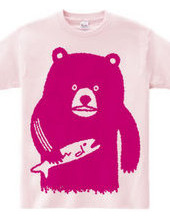 Bear hunting salmon(pink)