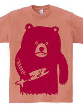 Bear hunting salmon(pink)