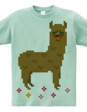 Dot Alpaca -brown-