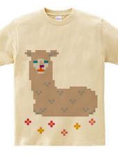 Dot Alpaca -light brown-