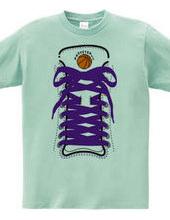 Basketball shoes! -purple-