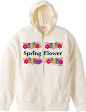For Spring-Flower parka