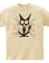 Screaming cat *Migyaaa! *Colorful-Font