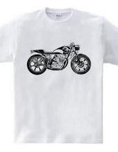 Ukiyo-e bike monochrome ver...