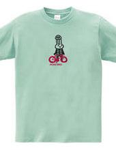 ロードレース・自転車 ウサギのバイク