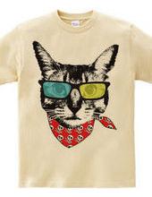 サングラス猫