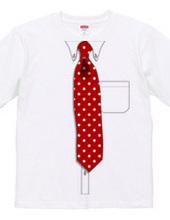 Yシャツ&ネクタイ フェイクTシャツ