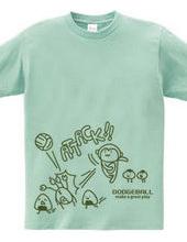 ドッジボール サル&カニ アタック