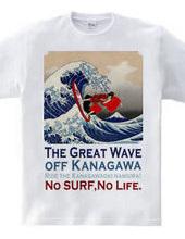 The Great Wave off Kanagawa (KABUKI-MONO