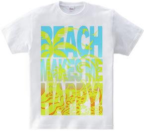 Beach makes me happy!
