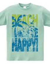 Beach makes me happy! *blue comb*