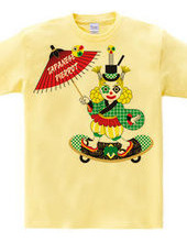 JAPANESE STYLE PIERROT COLORFUL