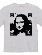 QR-Mona Lisa