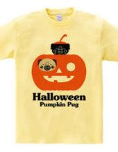 ハロウィン カボチャパグ Pumpkin Pug