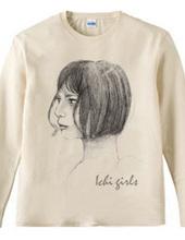 ichi girlシリーズ「おかっぱ女子」