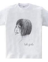 ichi girl series  Bob cut girl
