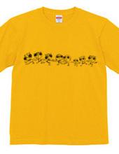 レッツゴー Tシャツ