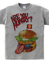 ARE YOU HUNGRY? ver.HANBURGER