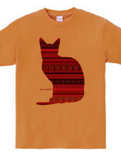 Mexican cat_red