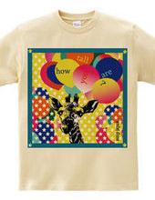 Frame  blue giraffe T-shirt