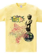 little man piss T-shirts