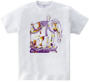 タイ国寺院の「白象」 TYPE-02