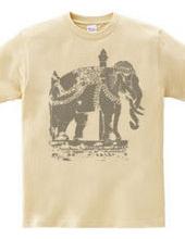 タイ国寺院の「白象」 TYPE-00