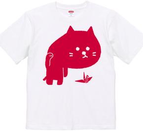 招き猫背(赤)