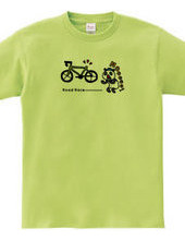ROAD RACE -panda & bike-