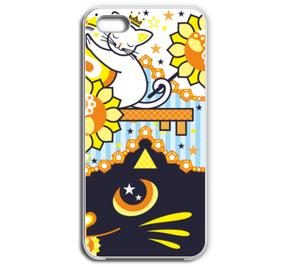 肉球陰陽太極図鍵と鍵穴白猫カップル鍵