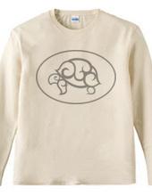 GSP ロゴ ロングTシャツ