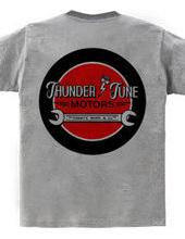 tuning shop logo thunder tune motors
