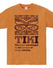 Hawaii deity Hawaiian TIKI_C  Purpl