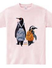 どこ行こうかな?「ペアペンギンリュック」- 3
