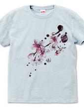 和風シリーズ 雨と桜