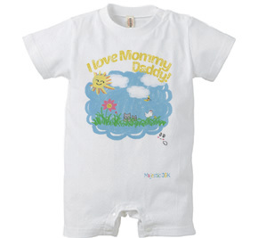 ロンパース/ I love Mommy, Daddy!