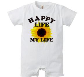 ロンパース/ HAPPY LIFE