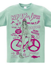 NPBR 自転車と女の子
