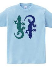 Two Geckos-b
