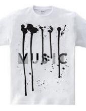 音楽を搾り出す。