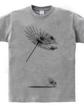 Sky flower Japanese umbrella