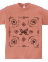 Butterfly bandanna style