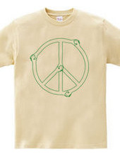 Shake Hands Peace GREEN